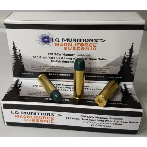 500 Smith & Wesson Magnum Magnuforce Subsonic Ammunition