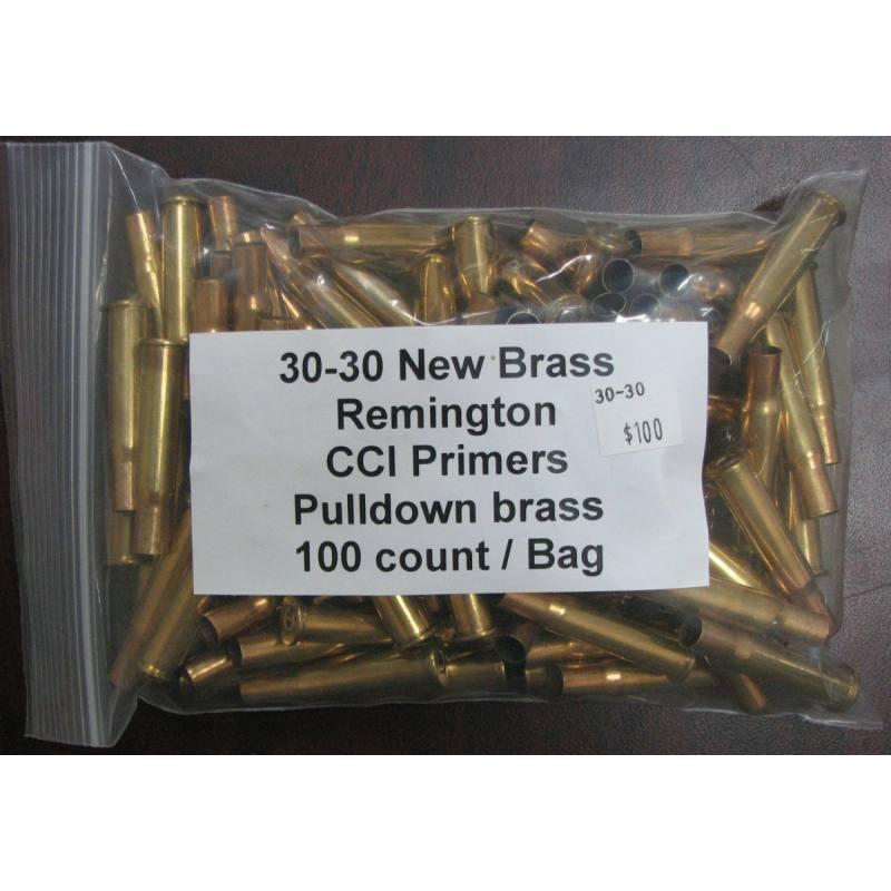 Primed 30-30 Brass
